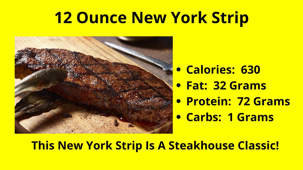 The 12 Ounce New York Strip!