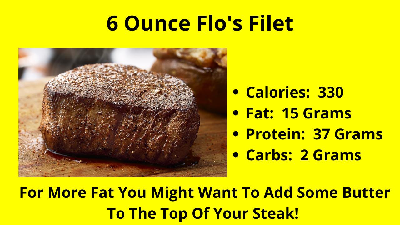 The 6 Ounce Flo's Filet!