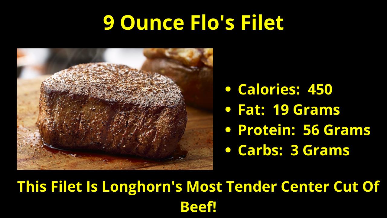 The 9 Ounce Flo's Filet!