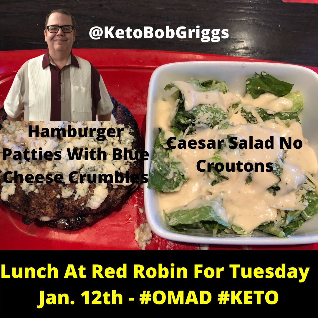 OMAD Keto Lunch At Red Robin!