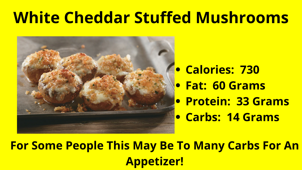 The White Cheddar Stuffed Mushrooms!